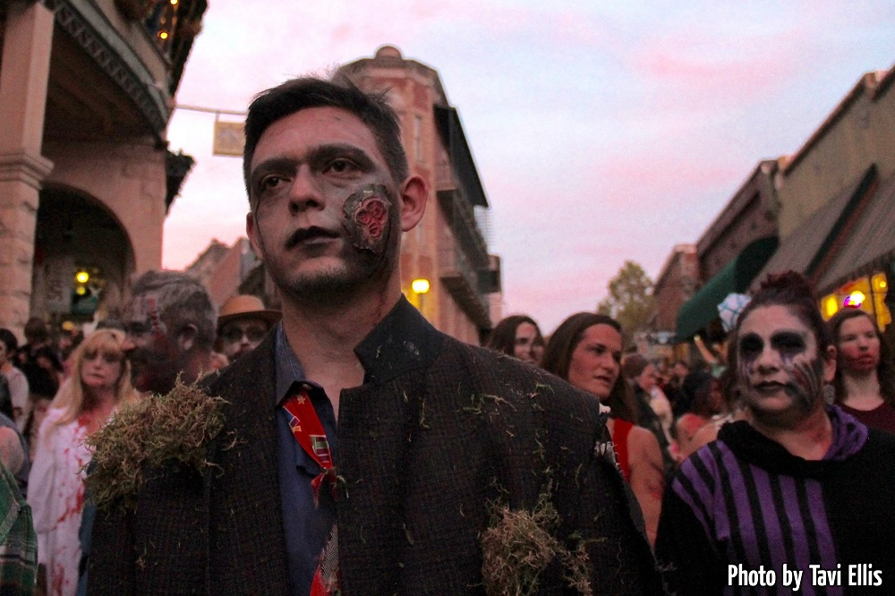 Zombie Walkers all made up