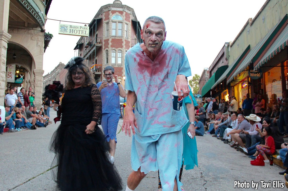 Zombie Crawl in downtown Eureka Springs, Arkansas